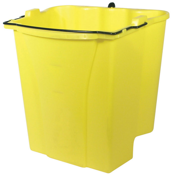 Rubbermaid FG9C7400YEL Dirty Water Bucket for WaveBrake Combo Restaurant Supply