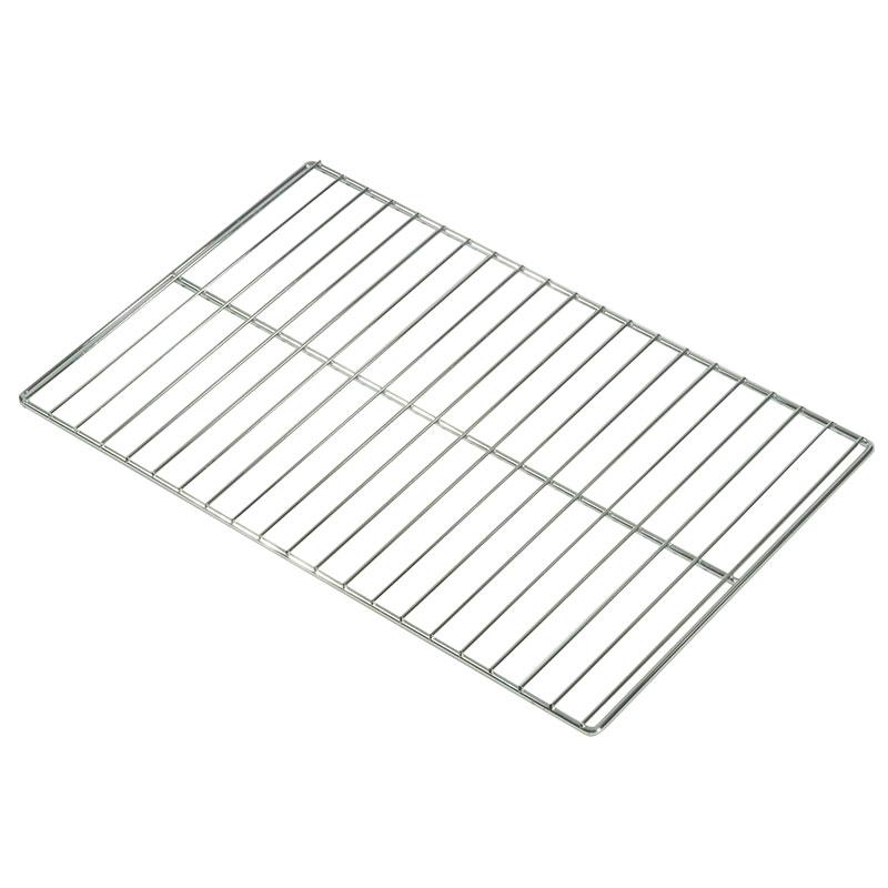 "Rubbermaid FG9F20000000 ProServe Insulated Chrome Plated Wire Shelf - 21x12-3/4x3/8"" Aluminum"