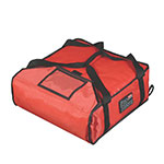 "Rubbermaid FG9F3500RED ProServe Pizza Delivery Bag - 18x18x5-1/4"" Red"