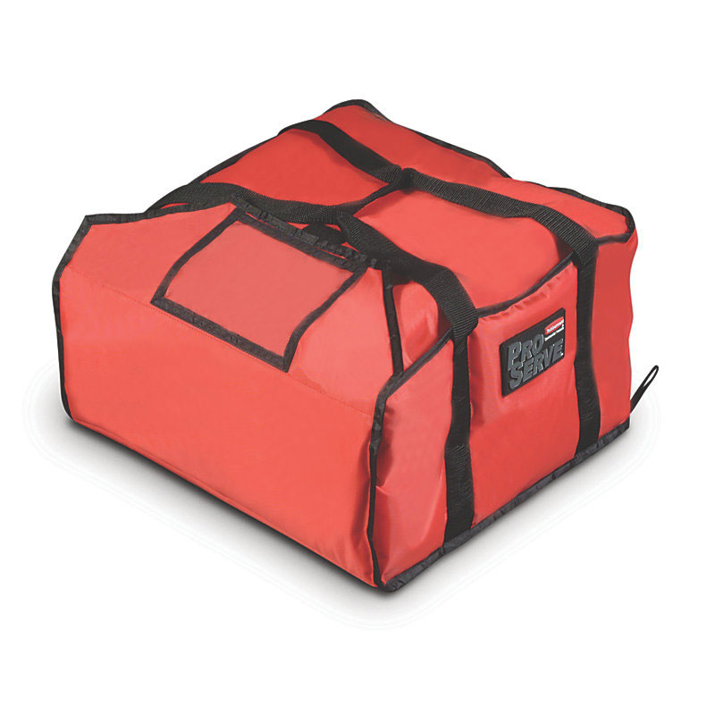 Rubbermaid FG9F3700RED ProServe Pizza Delivery Bag - 21-1...