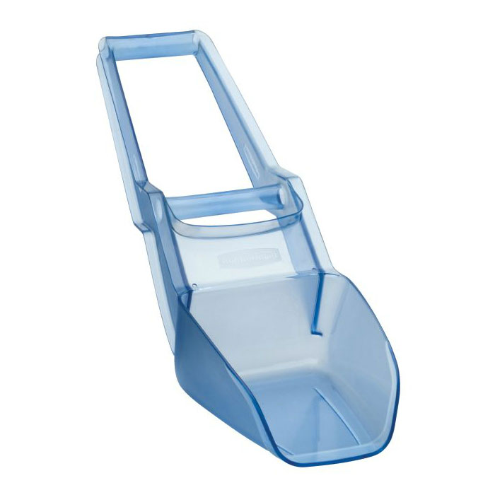 Rubbermaid FG9F5200TBLUE 120-oz Square Ice Scoop, Plastic