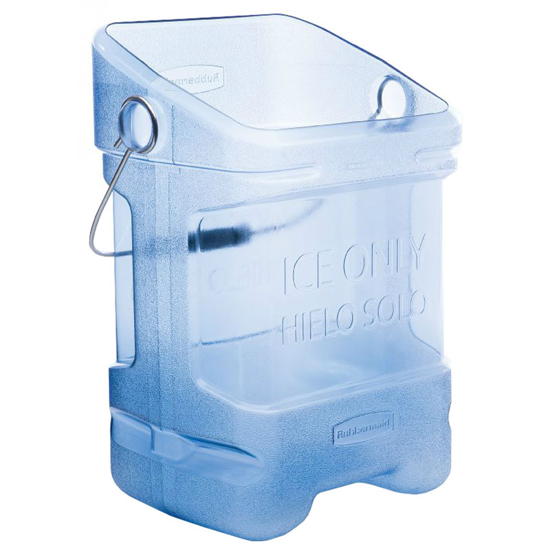 Rubbermaid FG9F5400TBLUE Square Ice Tote w/ 5.5-gal Capacity, Blue