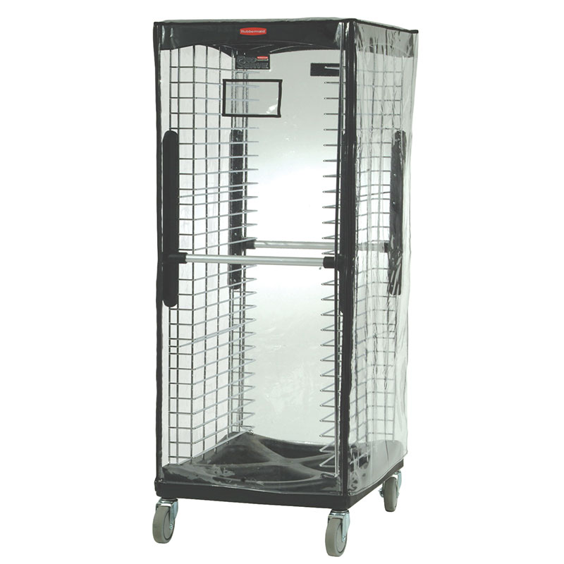 Rubbermaid FG9F9000CLR Rack Cover for ProServe 9F97/9F98 & Max System 3320, Clear Vinyl