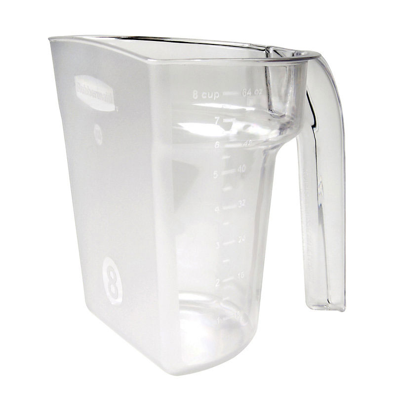 Rubbermaid FG9G5400CLR 64-oz Safety Portioning Scoop - Clear