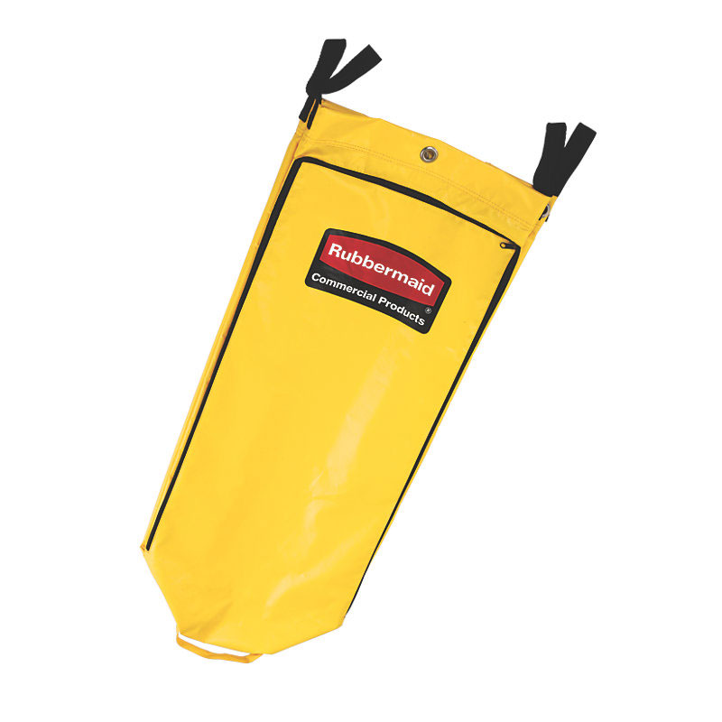 "Rubbermaid FG9T8000YEL Vinyl Replacement Bag - 33x10-1/2x17-1/2"" Yellow"
