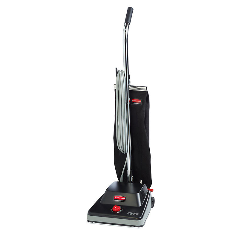 "Rubbermaid FG9VCV160000 16"" Standard Upright Vacuum - Black"