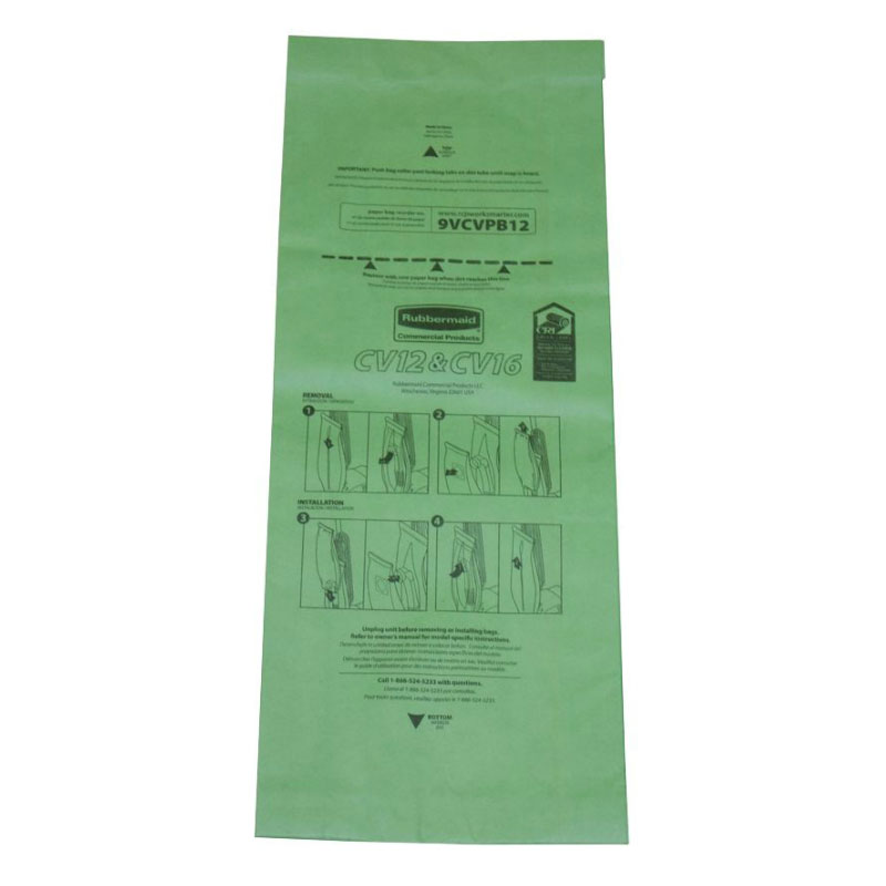 Rubbermaid FG9VULPB12 Replacement Paper Bag - (9VUL12)