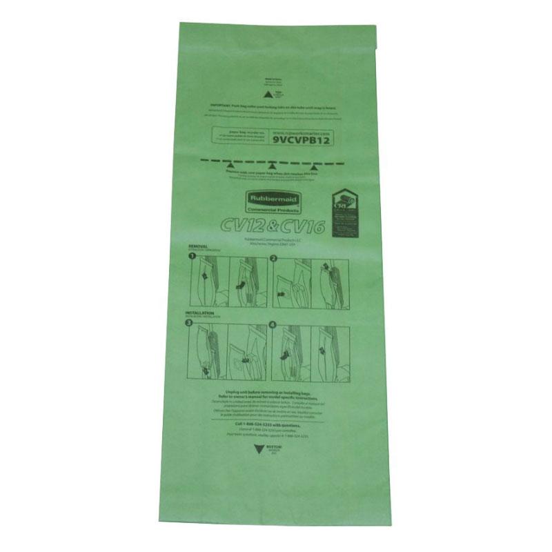 Rubbermaid FG9VULPB12 Replacement Paper Bag - (9VUL12)