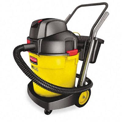Rubbermaid FG9VWD120000 Wet & Dry Vacuum Cleaner, 12.5 Gallon Capacity, HEPA