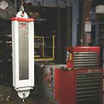 Rubbermaid FG007810000000 Pelouze Mechanical Vertical Hanging Scale - 110-lb x 1-lb/50-kg x 0.5-kg