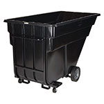 "Rubbermaid FG102542 BLA Forkliftable Tilt Truck - 1200-lb Capacity  80-1/2""x43""x49-1/2"" Black"