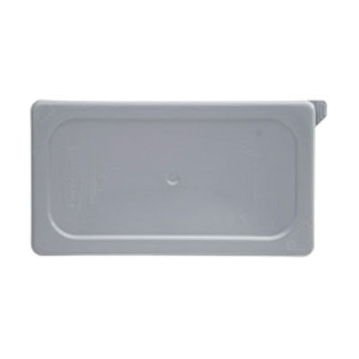 Rubbermaid FG103P29GRAY Cold Food Pan Cover - 1/9-Size, Secure Sealing, Gray