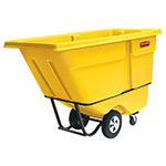 "Rubbermaid FG130500YEL Tilt Truck - Standard Duty, 850-lb Capacity 56-3/4x28x38-5/8"" Yellow"