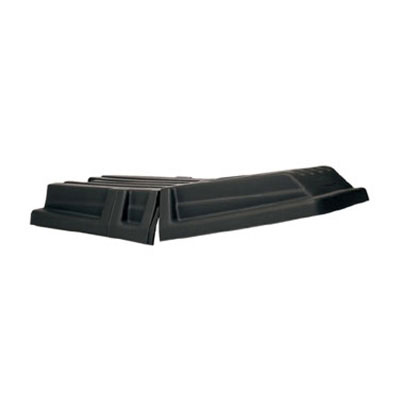 "Rubbermaid FG131700BLA Tilt Truck Lid - 69-1/2x34x8-1/2"" Black"