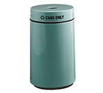 Rubbermaid FG1630CPLWH 15-gal Can Recycling Receptacle - Fiberglass, White