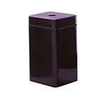 Rubbermaid FG1630SQCPLBY 20-gal Can Recycling Receptacle - Square, Fiberglass, Burgundy