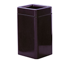 Rubbermaid FG1630SQTPLTN 20-gal Waste Receptacle - Fiberglass, Tan
