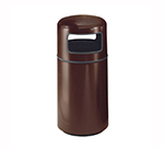 Rubbermaid FG1639PLNBL 15-gal Waste Receptacle - Covered Top