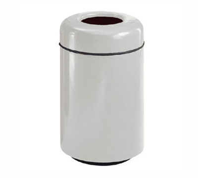 Rubbermaid FG1829TPLBB Waste Receptacle 20 Gal 29 in H Open Top Plastic Liner In/Out Blackberry Restaurant Supply