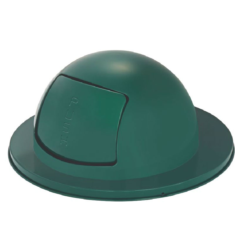 Rubbermaid FG2030EG Dome Top - H12 Receptacles, Empire Green