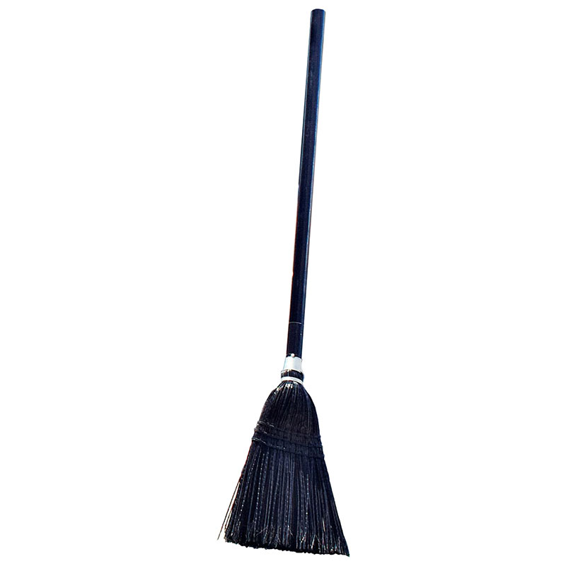 Rubbermaid FG253600BLA Executive Lobby Broom - Wood