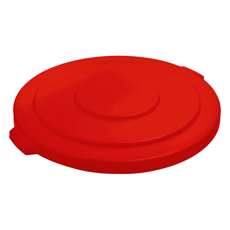 """Rubbermaid FG265400RED 26-3/4"""" BRUTE Container Lid - Red"""