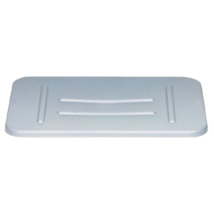 Rubbermaid FG364800 GRAY Bus/Utility Box Lid - Gray