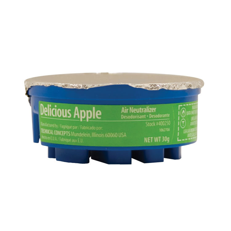 Rubbermaid FG400250A1 Gel Air Neutralizer Refill - Delicious Apple