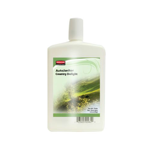 Rubbermaid FG400982 AutoJanitor Refill - Cleaner/Deodorizer, Country Delight