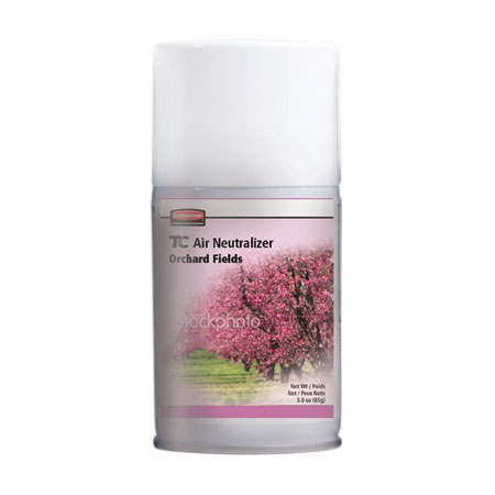 Rubbermaid FG4009841 Aerosol Air Neutralizer Refill - Orchard Fields