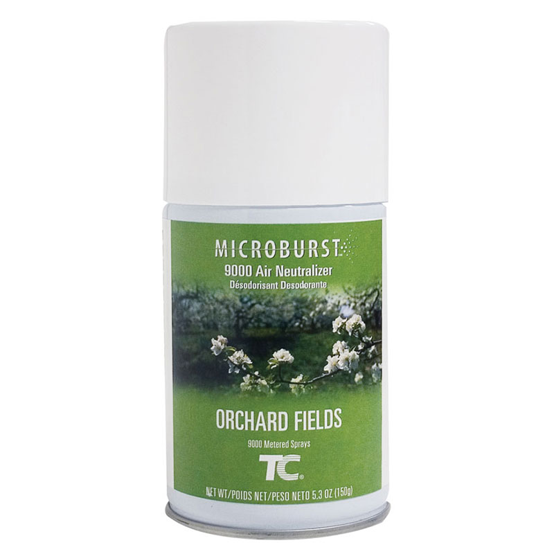 Rubbermaid FG4012451 Microburst 9000  Air Neutralizer Refill - Orchard Fields