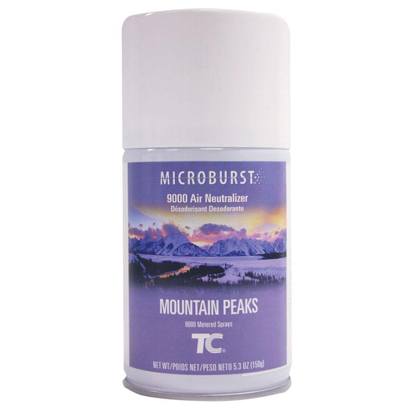 Rubbermaid FG4012461 Microburst 9000  Air Neutralizer Refill - Mountain Peaks