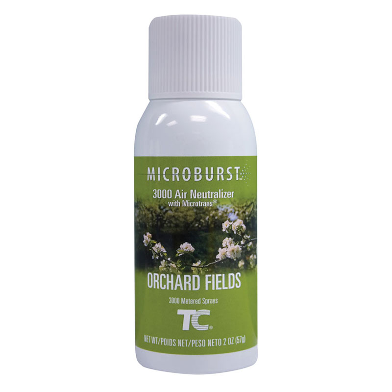 Rubbermaid FG4012561 Microburst 3000  Air Neutralizer Refill - Orchard Fields