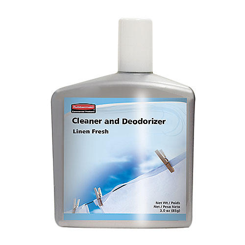 Rubbermaid FG401591 AutoClean Refill - Cleaner/Deodorizer, Linen Fresh