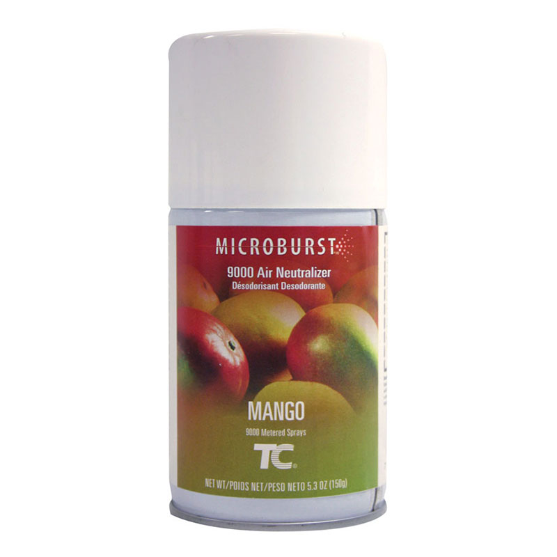 Rubbermaid FG401693 Microburst 9000  Air Neutralizer Refill - Mango