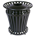 Rubbermaid FG402000 BLA 20-gal WeatherGard BRUTE Container - Black
