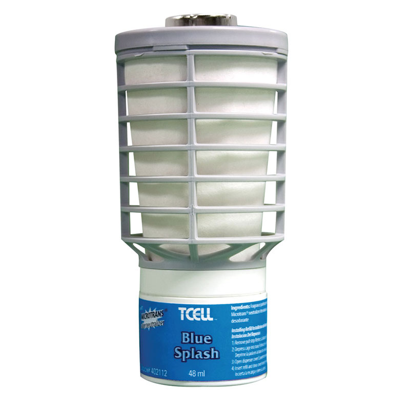 Rubbermaid FG402112 TCell Refill - Blue Splash