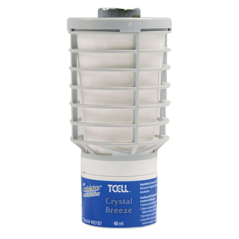 Rubbermaid FG402187 TCell Refill - Crystal Breeze