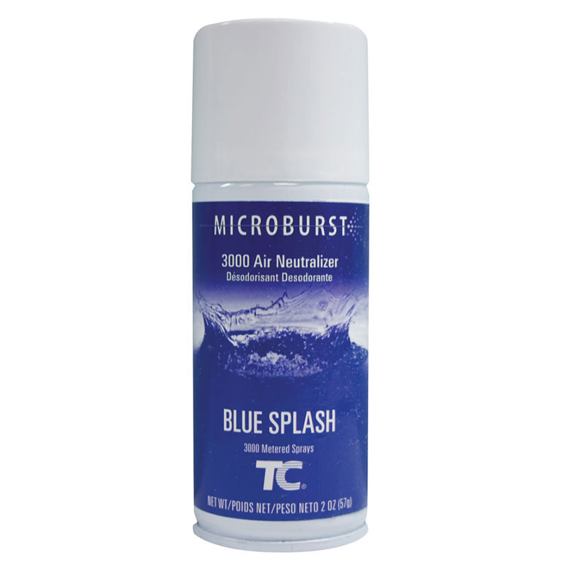 Rubbermaid FG402355 MicroBurst 3000 Air Neutralizer Refill - Blue Splash