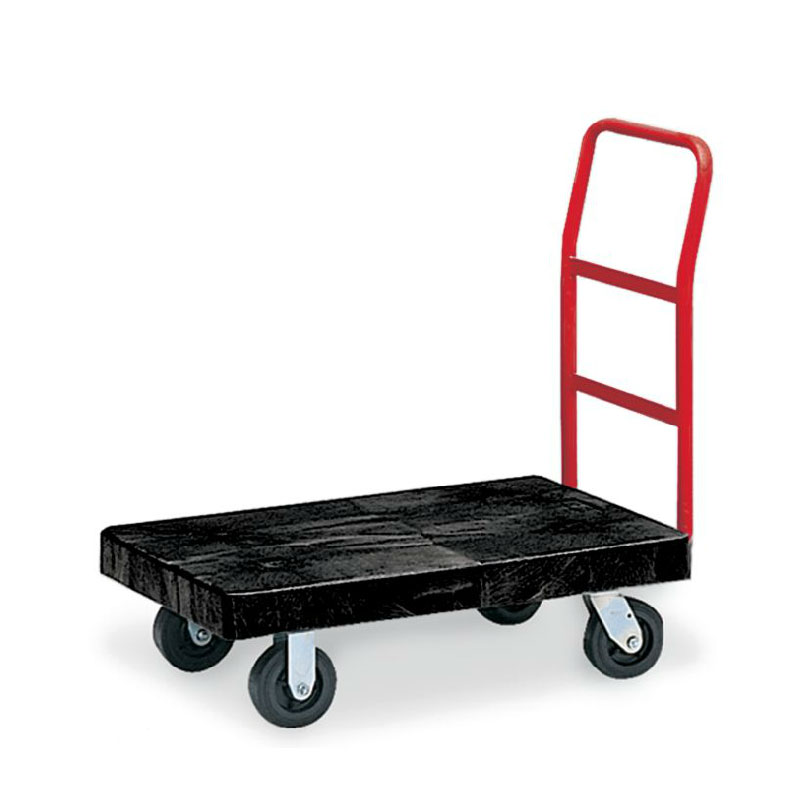 "Rubbermaid FG440300BLA Utility Platform Truck - Heavy Duty, 24x36"" 500-lb Capacity, Black"