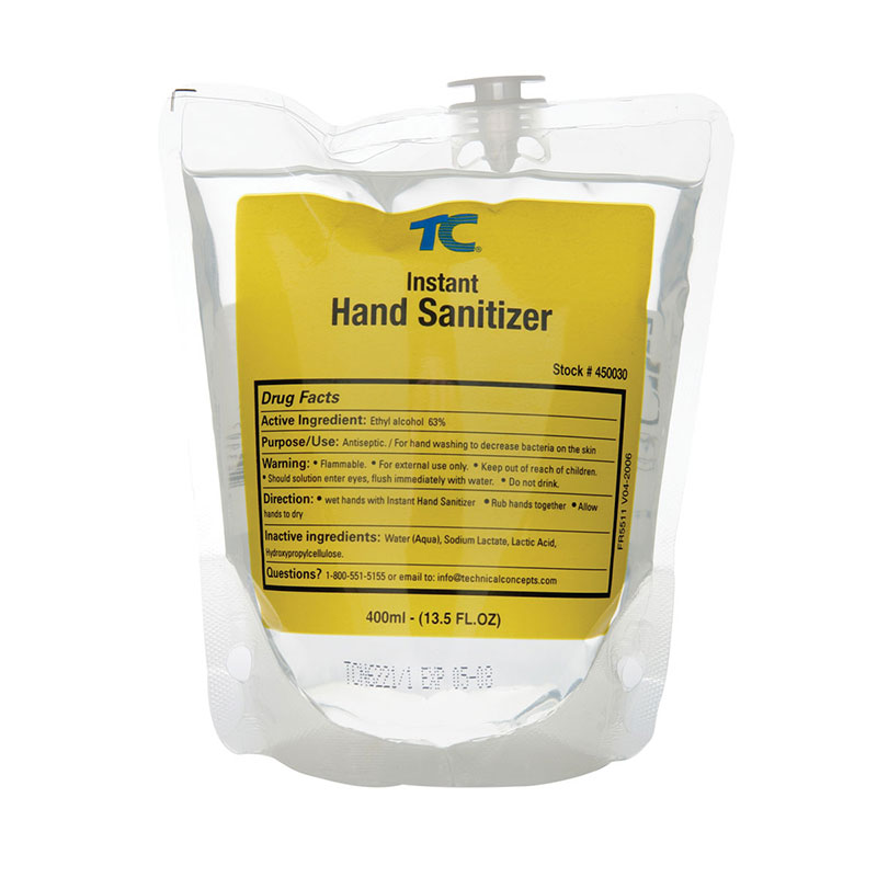 Rubbermaid FG450030 400-ml Spray Hand Sanitizer Refill