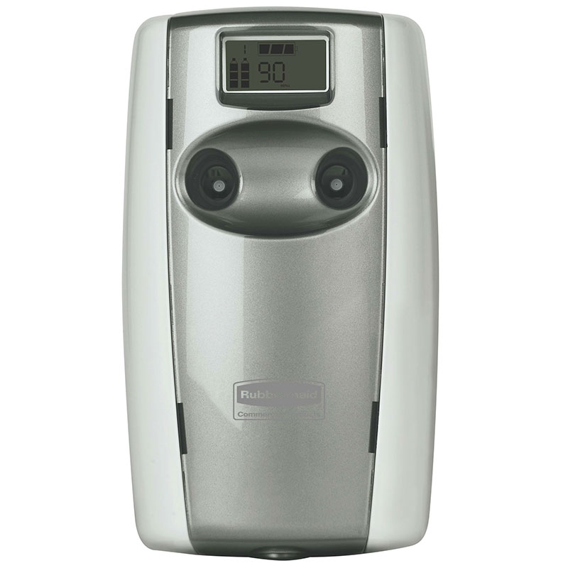 Rubbermaid FG4870001 Microburst Duet Odor Control Dispenser - White/Gray Pearl