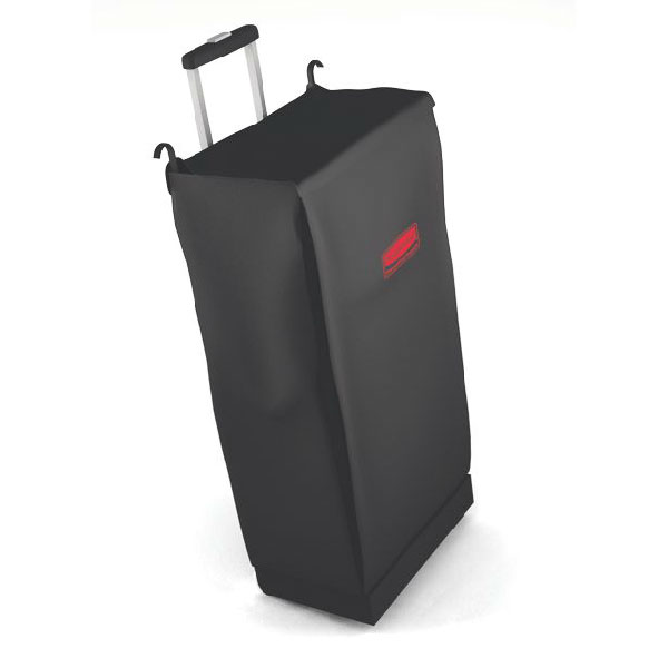 Rubbermaid FG617400BLA Mobile Fabric Bag - Black