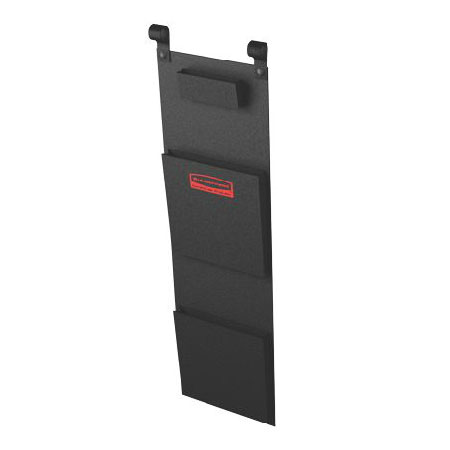 Rubbermaid FG617800BLA Fabric Literature Organizer