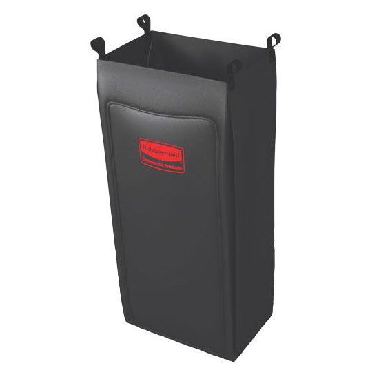 Rubbermaid FG618800BLA Heavy Duty Long Fabric Bag