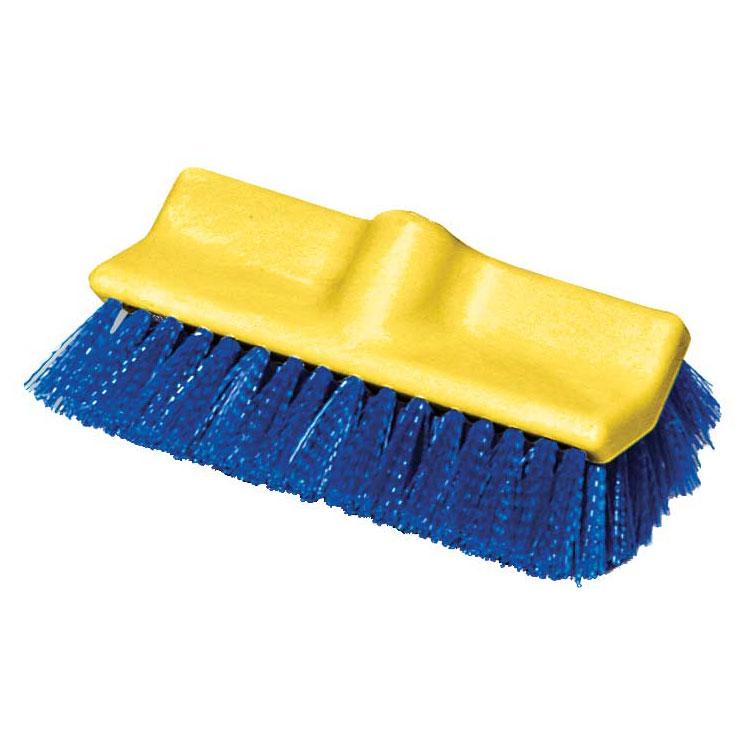 "Rubbermaid FG633700 BLUE 10"" Floor Scrub Brush - Poly Blue"