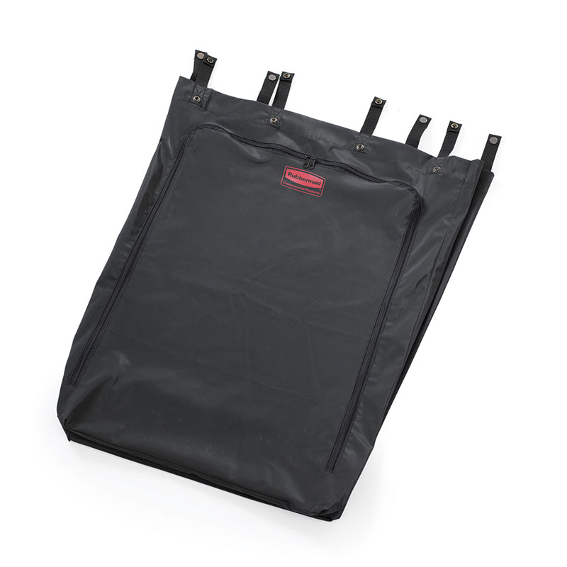 Rubbermaid FG635000 BLA 30-gal Linen Hamper Replacement Bag - Black