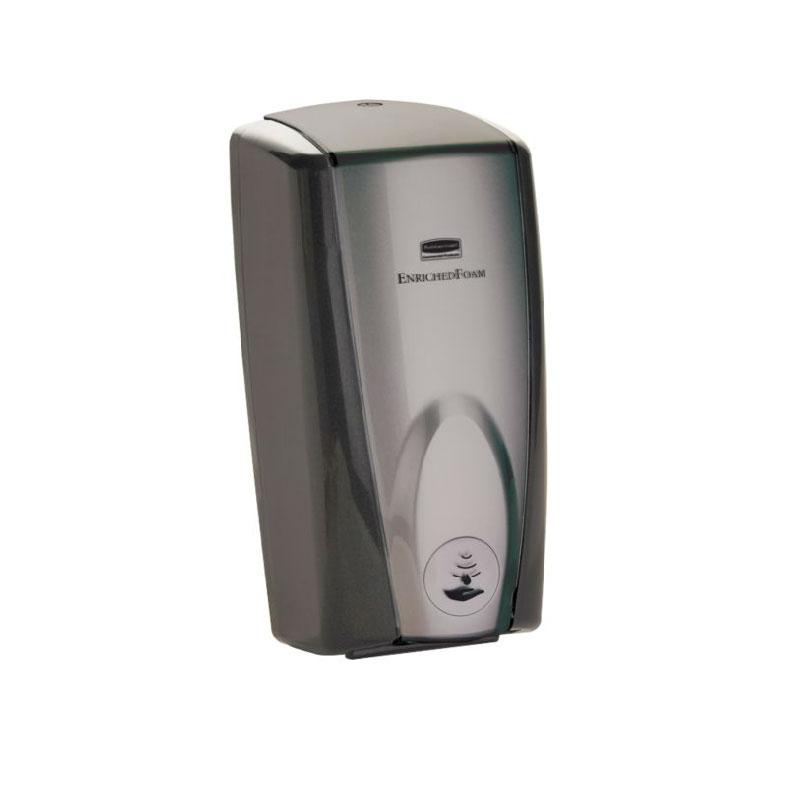 Rubbermaid FG750139 1100-ml AutoFoam Soap Dispenser - Black/Gray Pearl