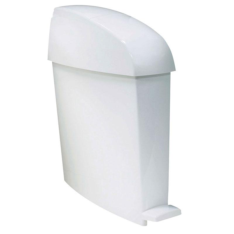 Rubbermaid FG750243 3-gal Sanitary Waste Bin - White