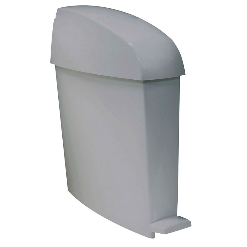 Rubbermaid FG750244 3-gal Sanitary Waste Bin - Gray